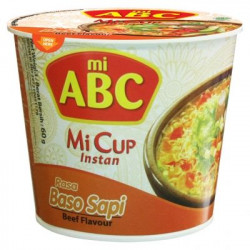 ABC INSTANT CUP NOODLE BEEF...
