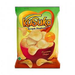 Cassava Chips Keju Bakar...