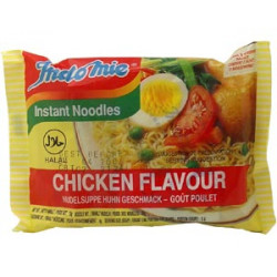 Indomie Chicken Flavour - 1pcs